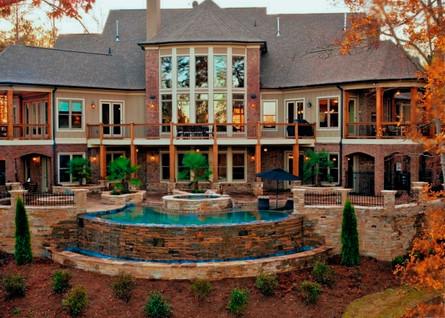 Breathtaking Backyard Patio with Pool
