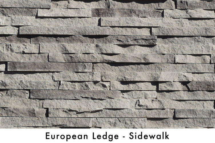 European Ledge - Sidewalk