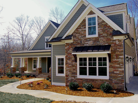 Stone Veneer Curb Appeal Accents