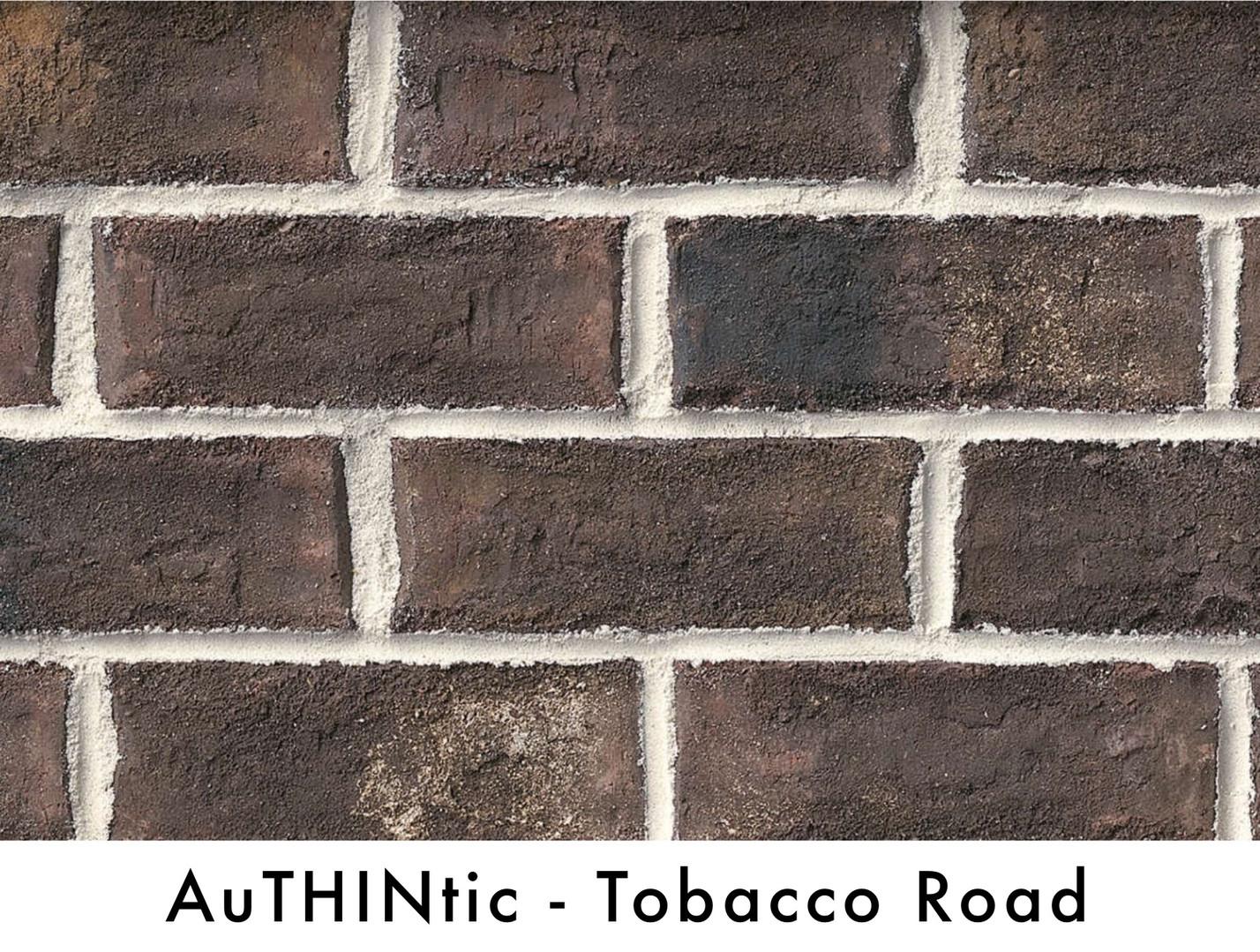 Authintic Brick - Tobacco Road