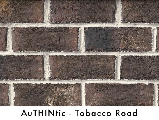 Authintic Brick - Tobacco Road