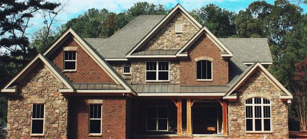 New Construction Stone Brick Siding