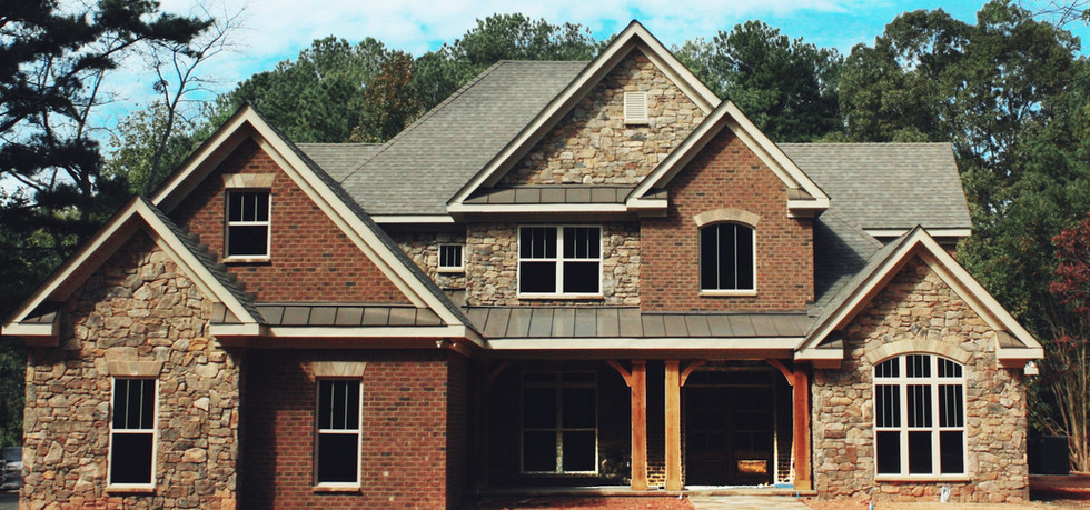 New Construction Stone Brick Siding