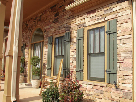 Front Porch Stone Upgrade
