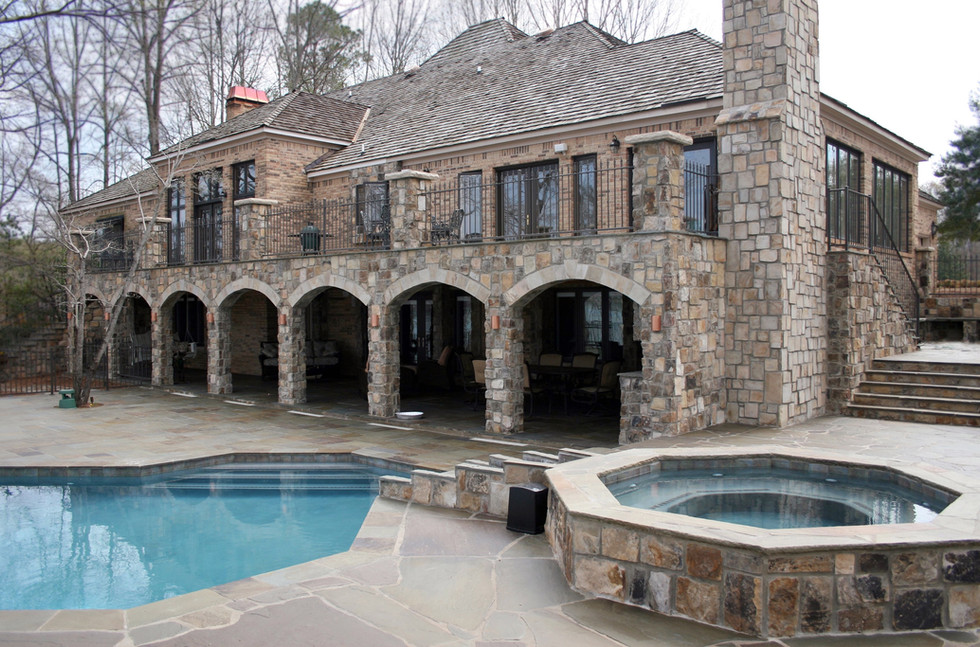 Stone Mansion Makeover