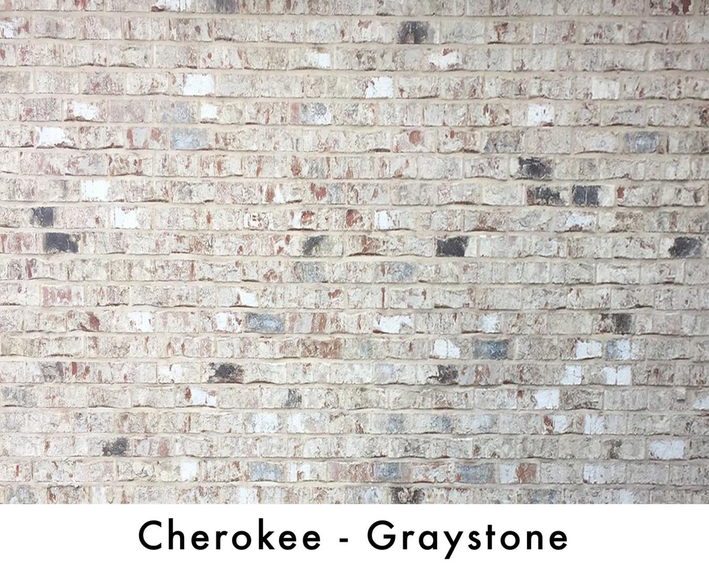 Cherokee Brick - Graystone