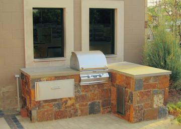 Budget Sized Outdoor Kitchen