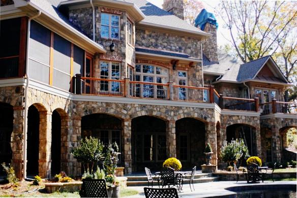 Elegant Stone Mansion Remodel