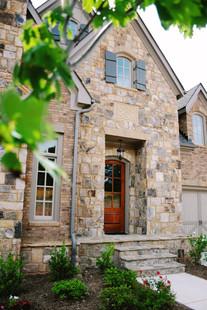 Garden Entryway Renewed with Stone