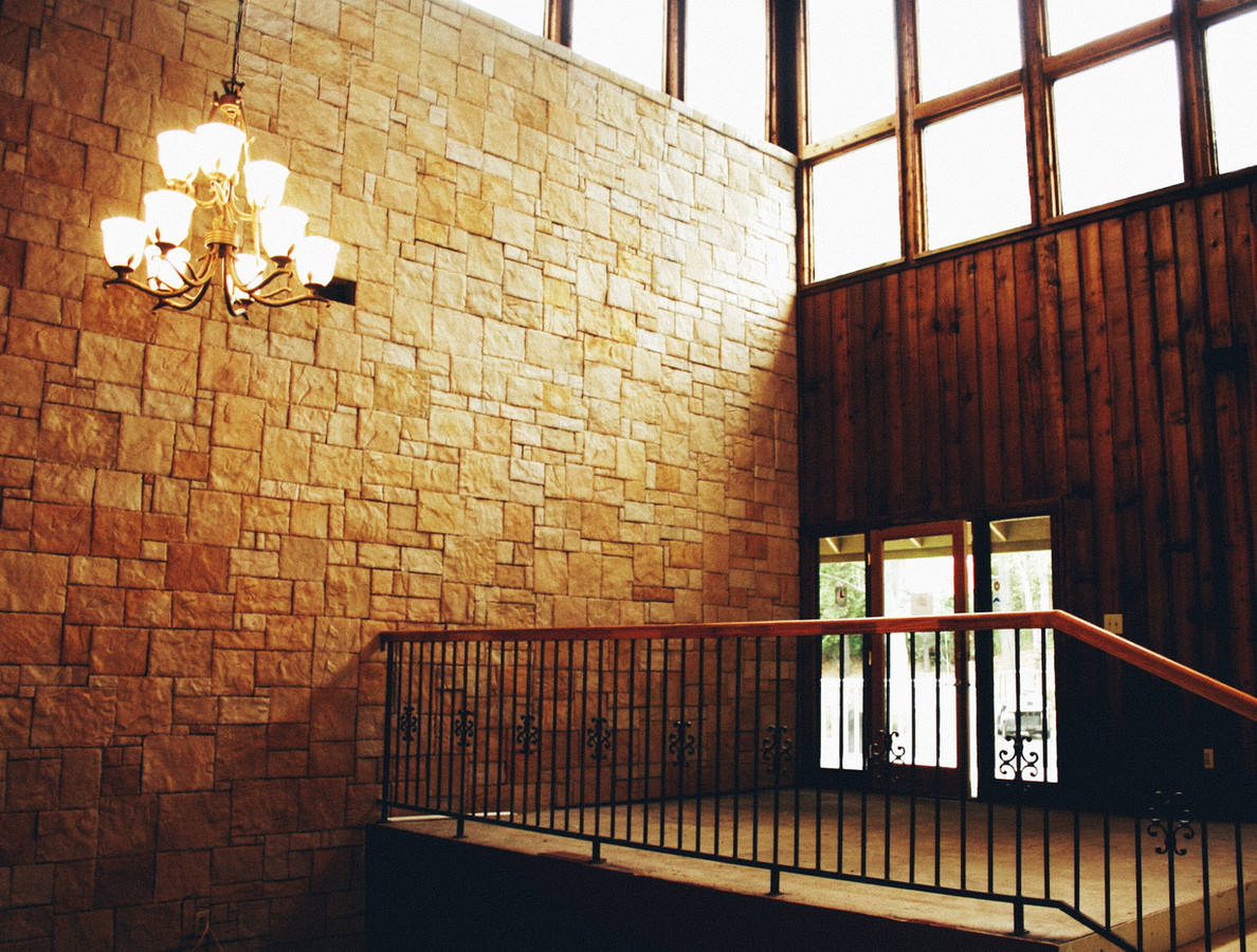 Large Stone Accent Wall