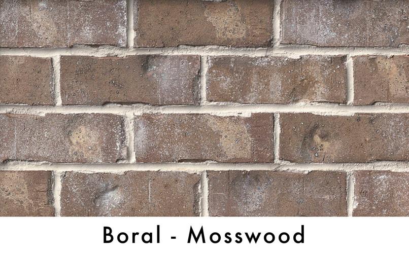 Boral Brick - Mosswood