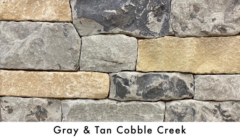 Gray & Tan Cobble Creek