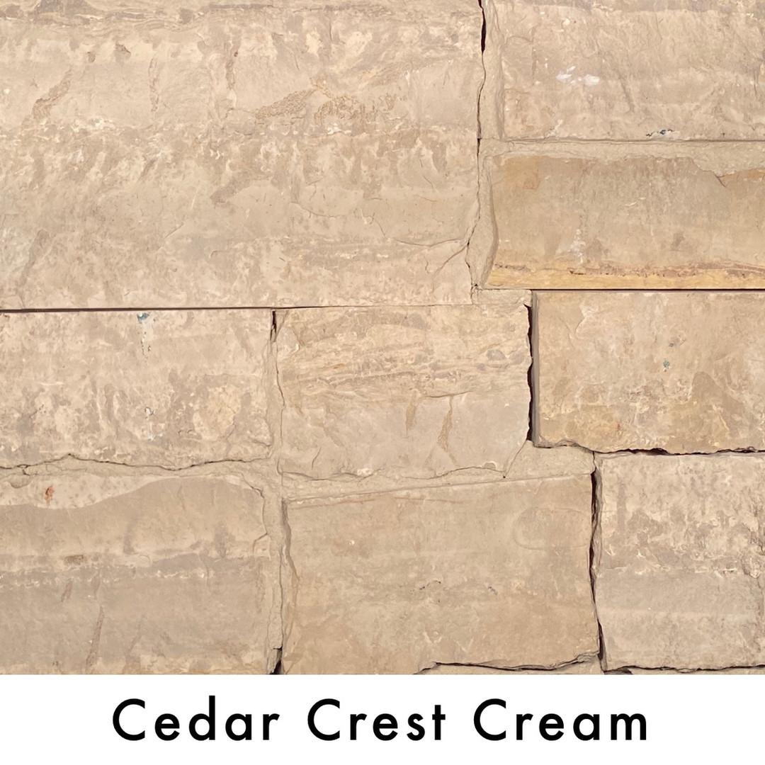 Cedar Crest Cream