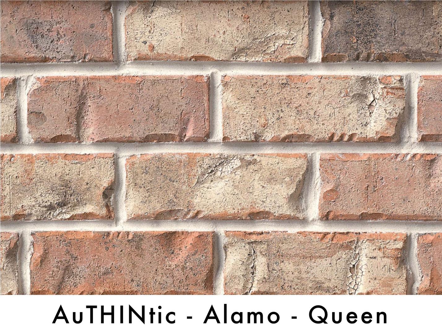 Authintic Brick - Alamo