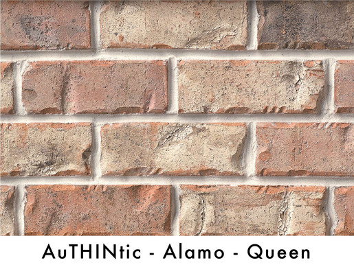 Authintic Brick - Alamo