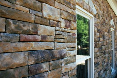 Cultured Stone Wall