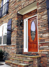 Welcome Stone Entry Way