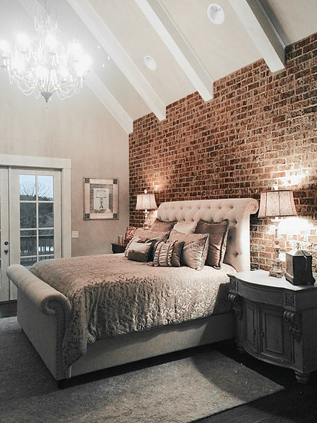 Bedroom Wall Thin Brick Veneer