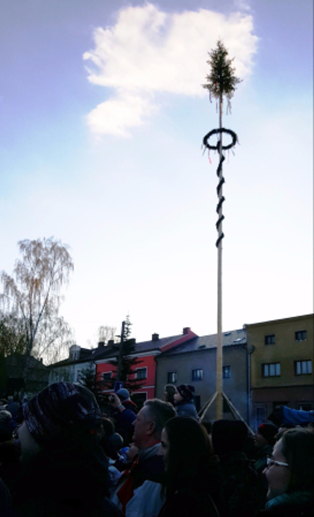 Maypole in Starkov
