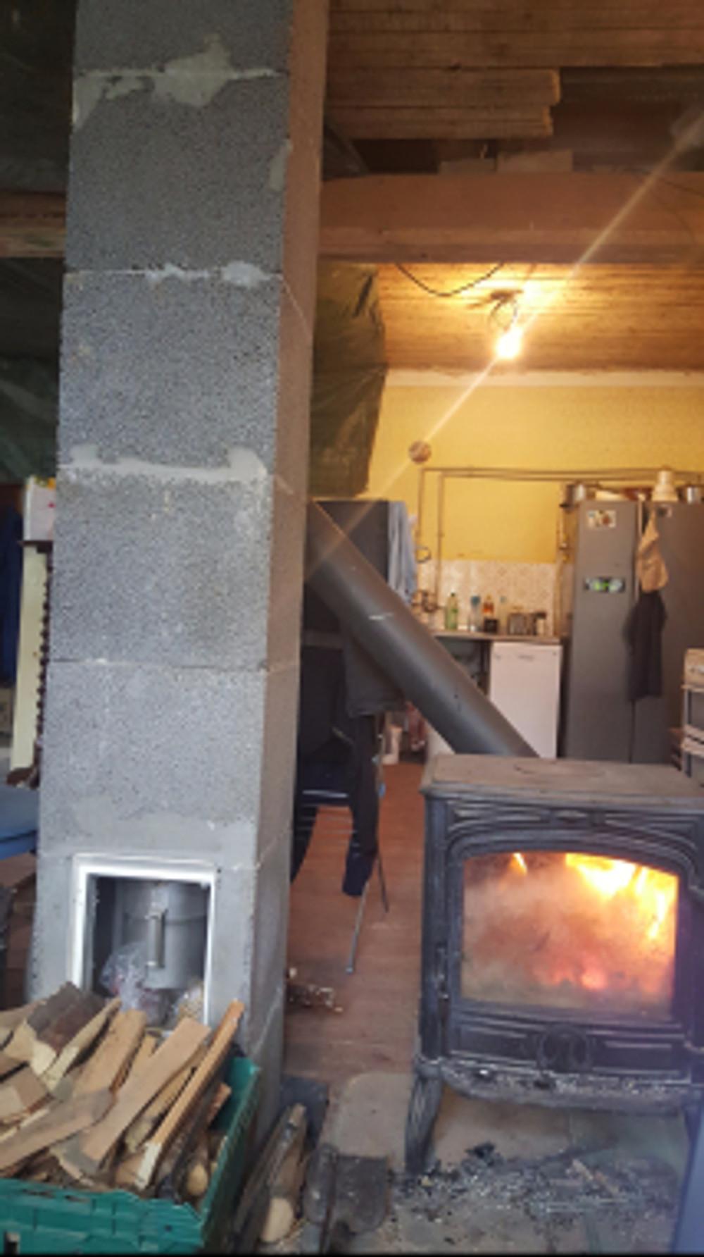 Utilitarian chimney