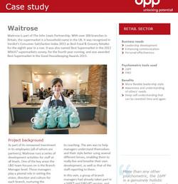 Waitrose case study