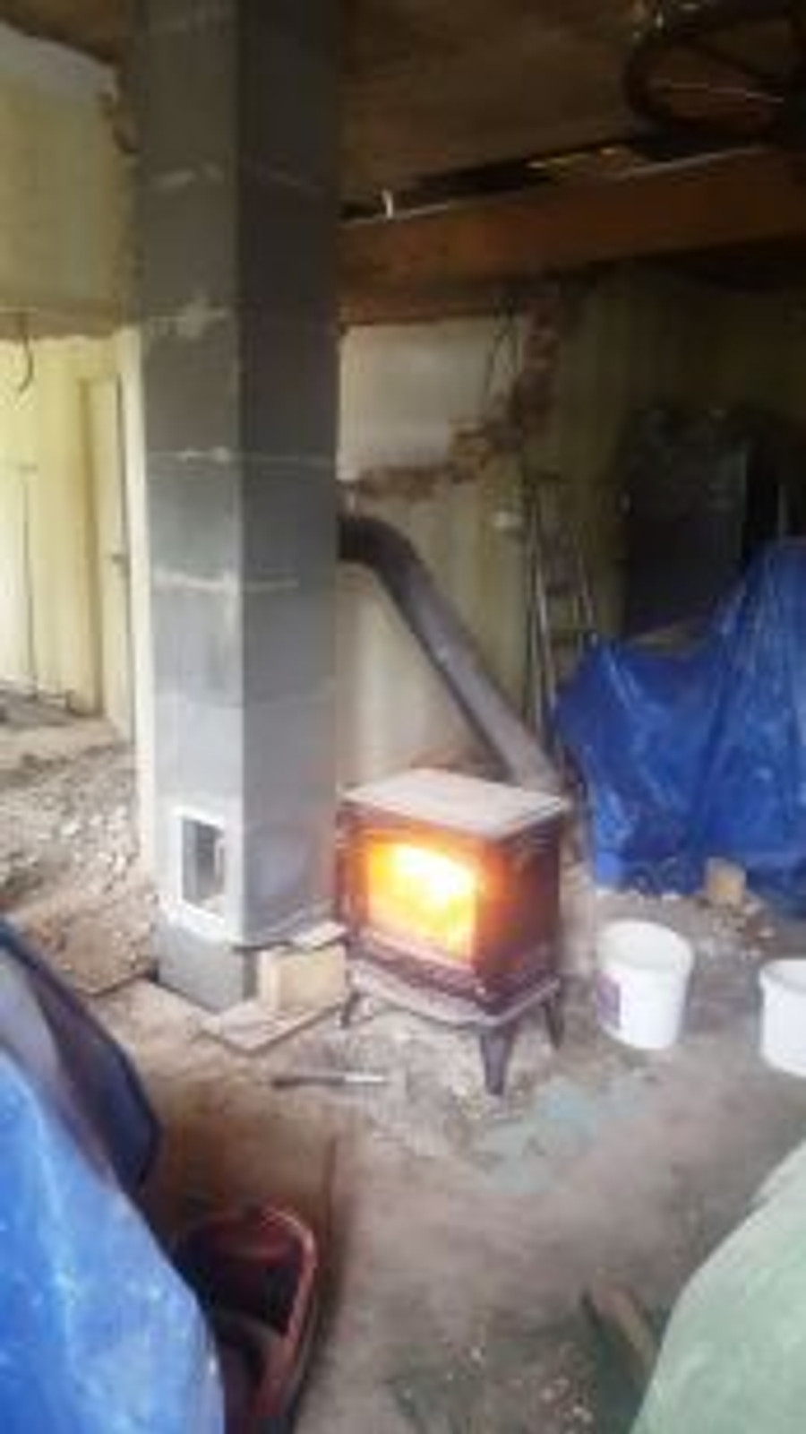 stove and chimney