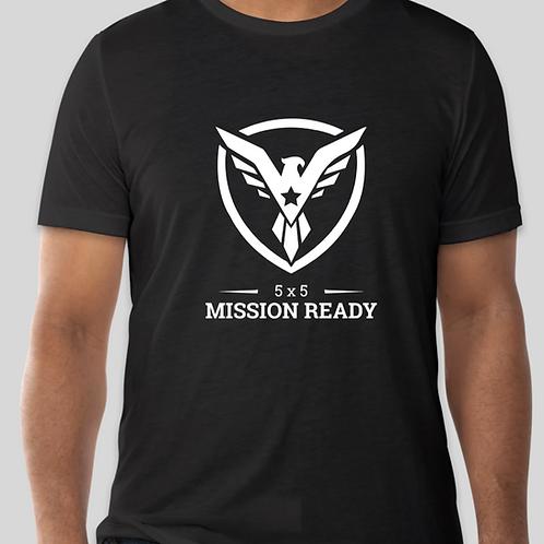 5x5 Mission Ready Large Logo