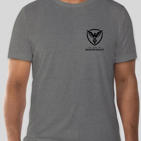 Grey 5x5 Mission Ready Tri-Blend Shirt