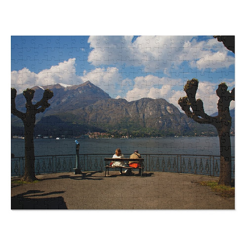 View of Lake Como from Bellagio (252 Piece Puzzle)