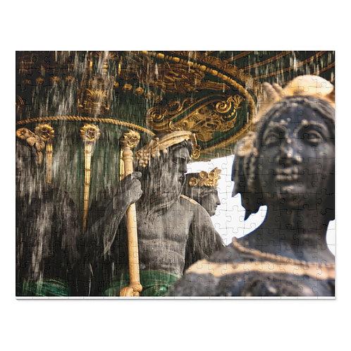 Paris fountain (252 Piece Puzzle)