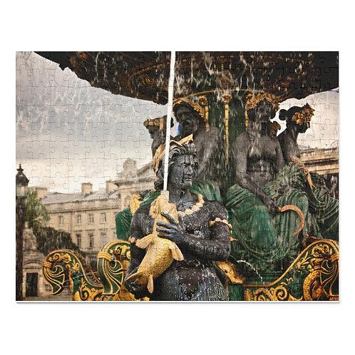 Paris Fountain II (252 Piece Puzzle)