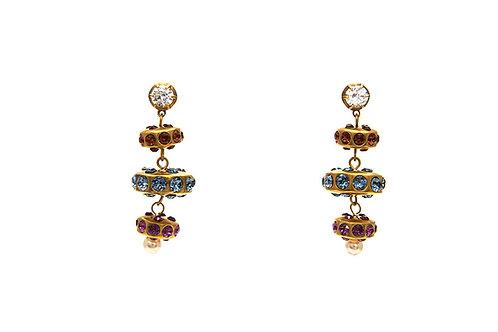 Candy Swarovski Drop Earrings