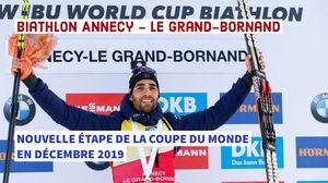 Calendrier Coupe Du Monde Biathlon 2020.Coupe Du Monde De Biathlon Au Grand Bornand En 2019