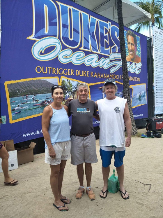 Caught up with Dukes Oceanfest 2018 organiser and friend of MLBC Jim Fulton. Fun times at Waikiki! �