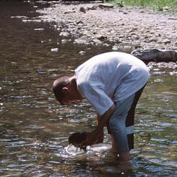 Arbeit im Wasser Tiff