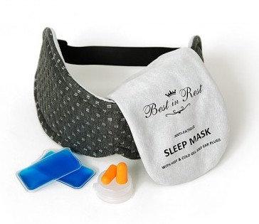Masque de sommeil anti-fatigue en mousse mémoire Best In Rest