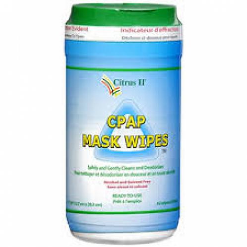 Lingette nettoyante Citrus II pour masque de CPAP
