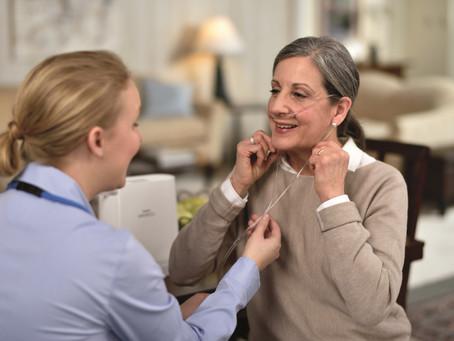 L'inhalothérapeute dans votre traitement d'oxygénothérapie.