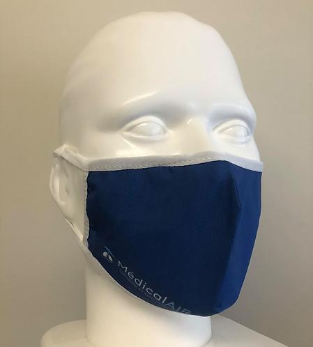 Couvre-visage en tissu lavable et réutilisable