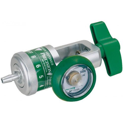 Régulateur d'oxygène 0-8 LPM de Precision Medical