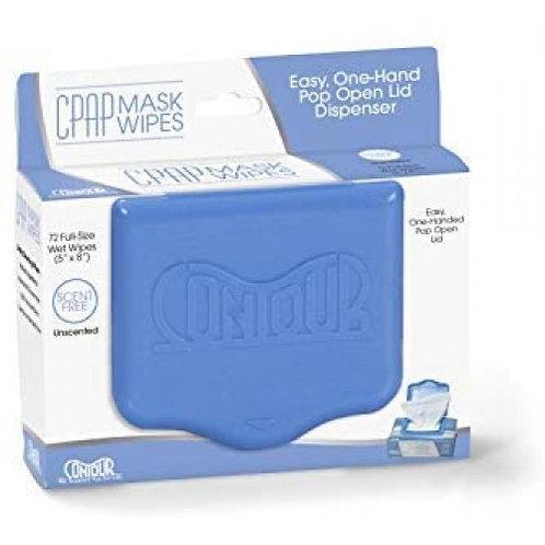 Lingette nettoyante Contour pour masque de CPAP