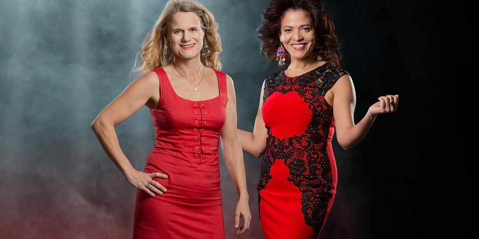 Duo Mireya Coba Cantero (Cu, Vocals)- Eva Tilly (USA/D, Piano)