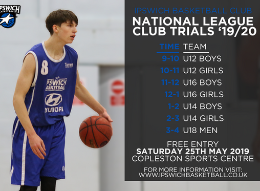 2019/20 Season Club Trials Date Announced