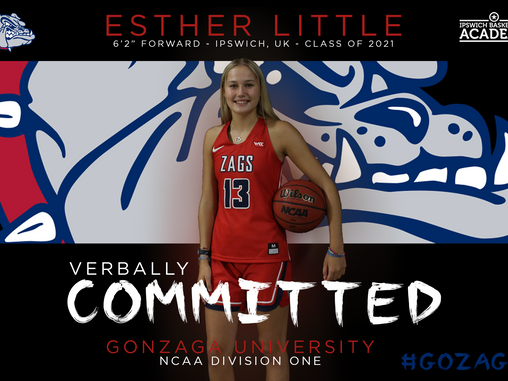 Esther Little Verbally Commits to Gonzaga University