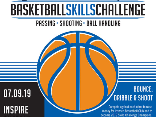 Basketball Skills Challenge Fundraiser & BBQ - 7th Sept 2019