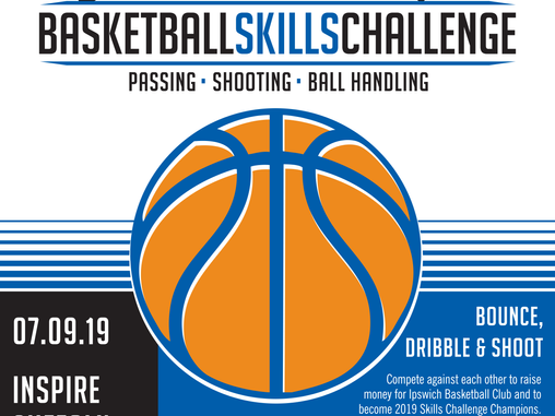 Basketball Skills Challenge Fundraiser & BBQ - 7th Sept 2019