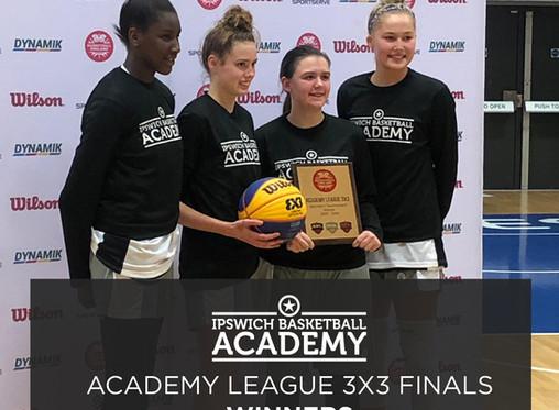 Academy Success at 3X3 Academy League Finals