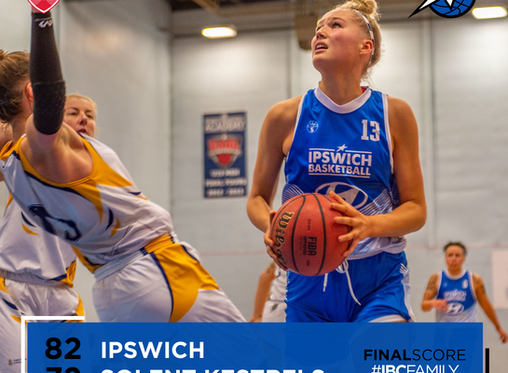 Match Report: Ipswich Women win 8th in a row