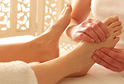 Traditional reflexology