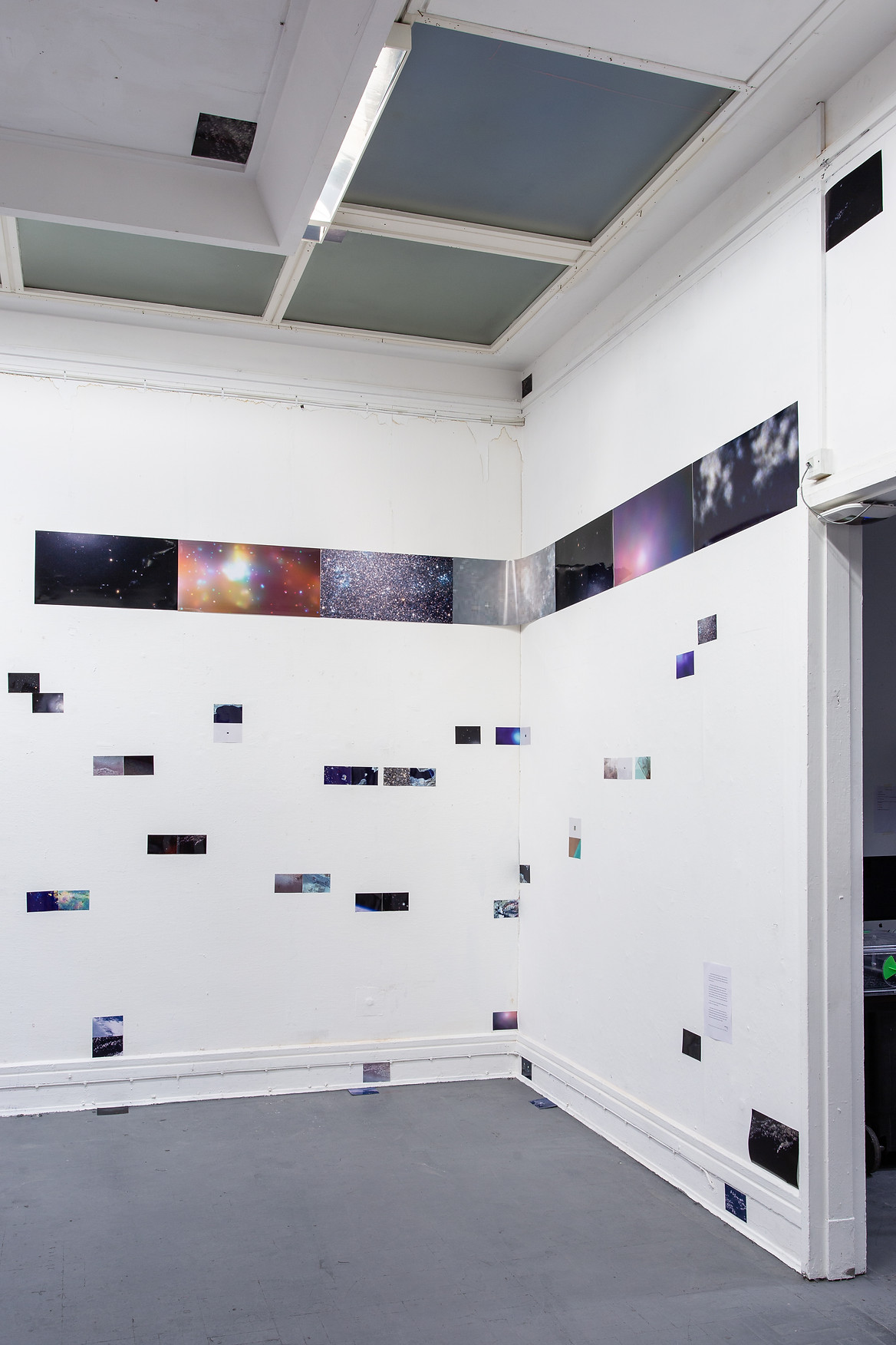18.  Installation view of London Summer